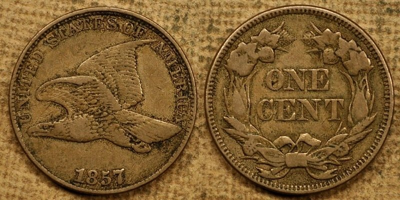 1857 American Penny