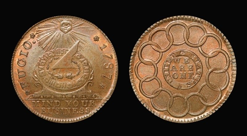 American Penny Fugio Cent