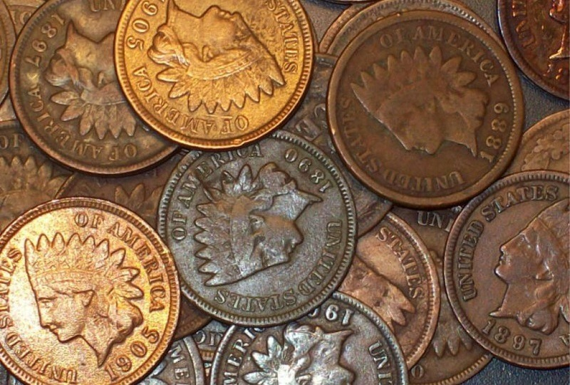 Indian Cent Collection