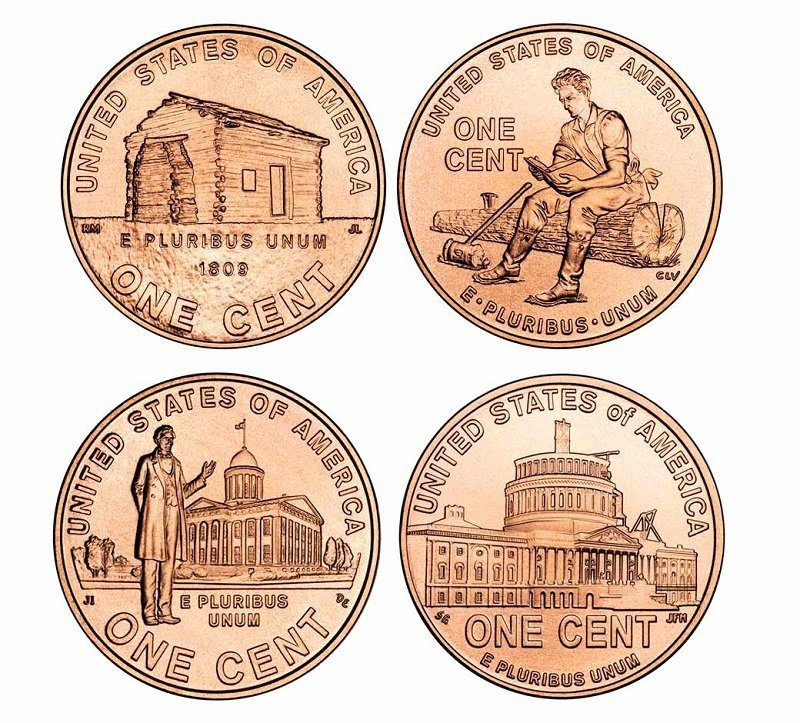200-year Lincoln Anniversary Penny