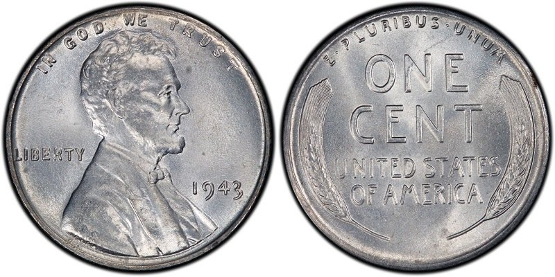 Steel Lincoln American Penny