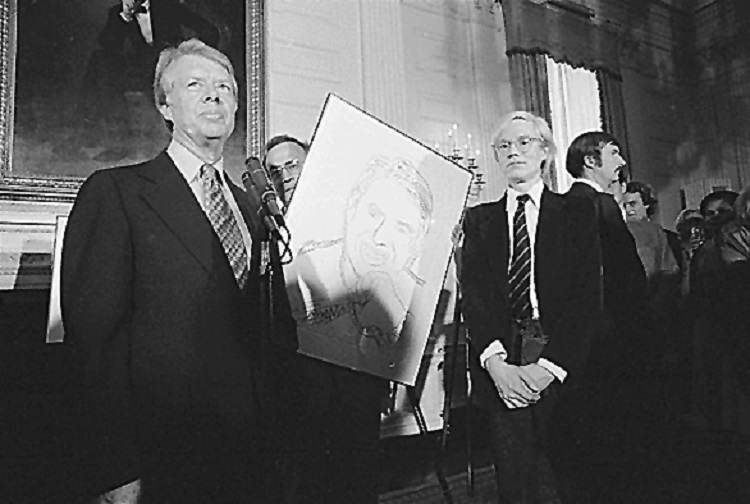 Andy Warhol With Carter