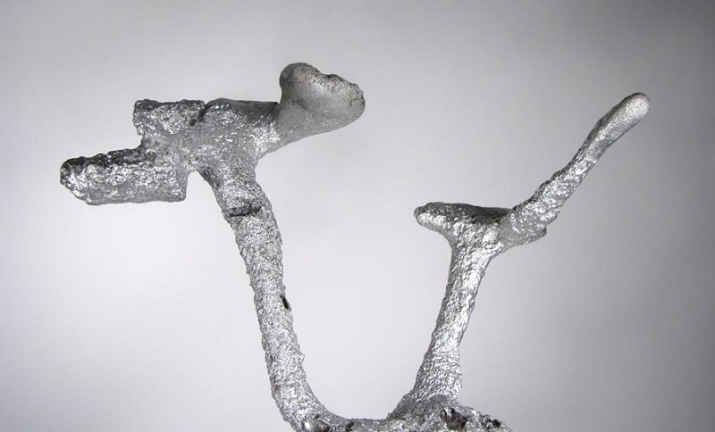 Up Close Aluminum Anthill Art