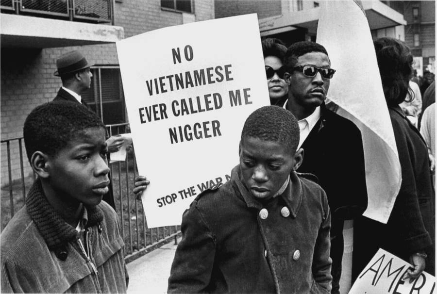 Anti War Protest Harlem 1967