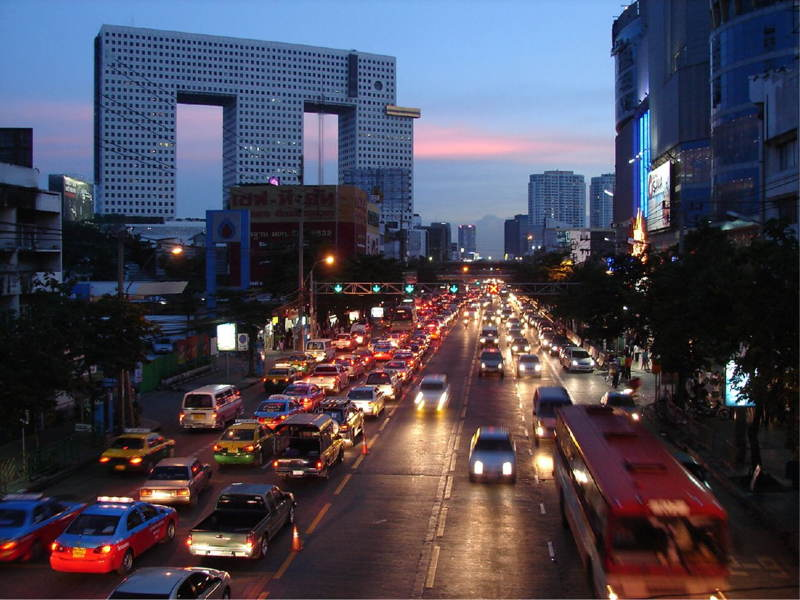 Elephant Tower Streets