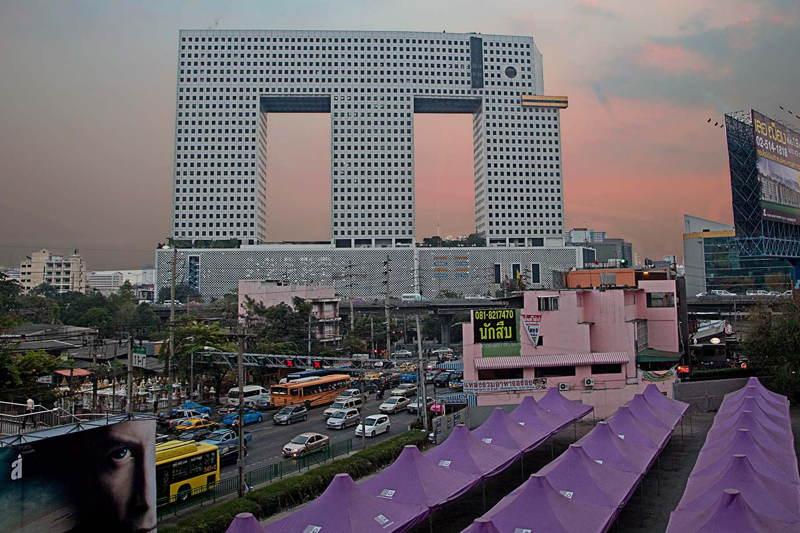 Elephant Tower Sunset