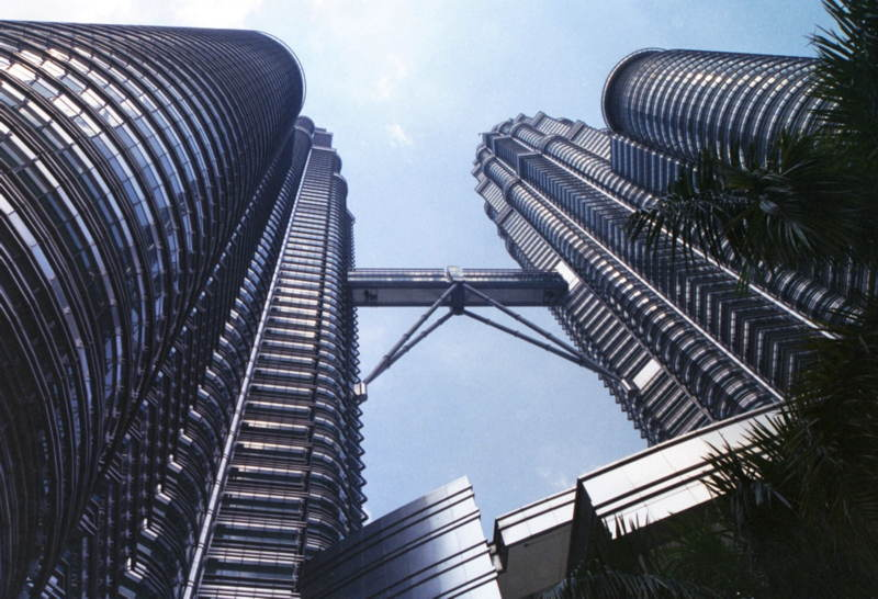 Petronas Towers Underneath