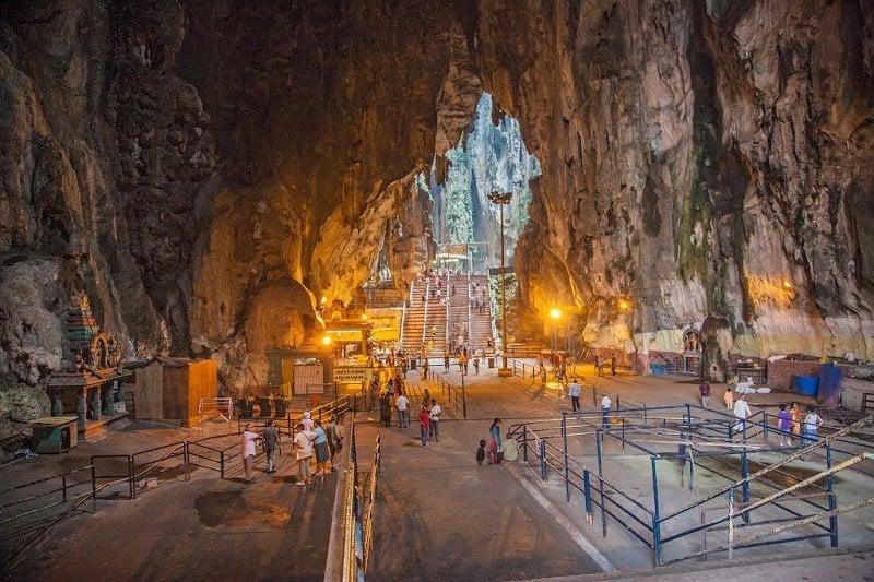 Inside Hindu Caves