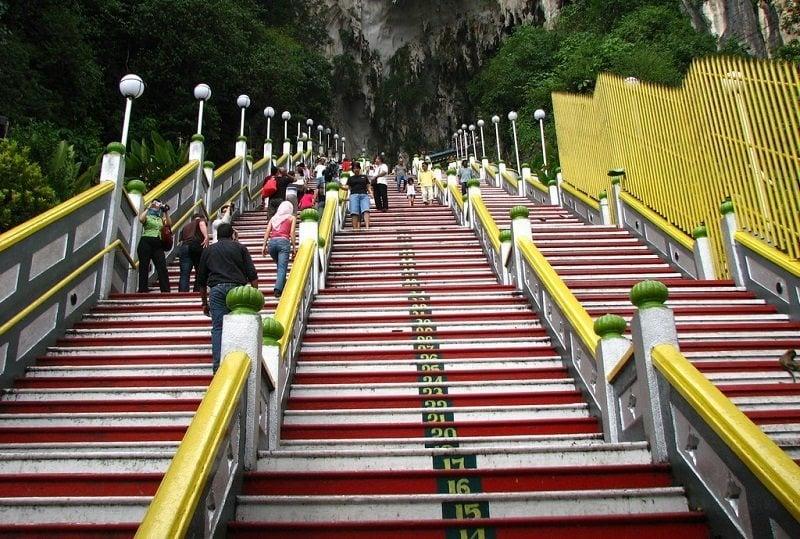 Stairway to Batu Caves