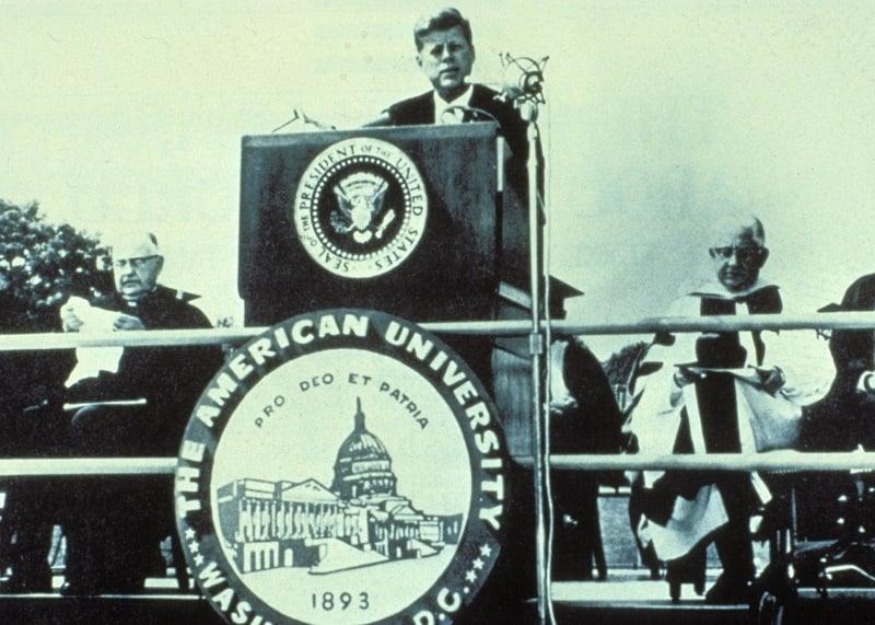 John F Kennedy Best Commencement Speeches