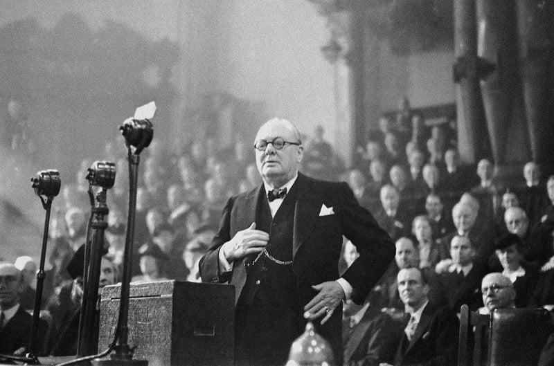 Winston Churchill Best Commencement Speeches