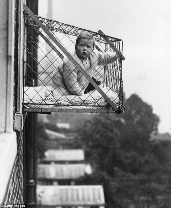 Bizarre Photos Baby Cages