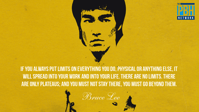 Bruce Lee On Conquering Limits