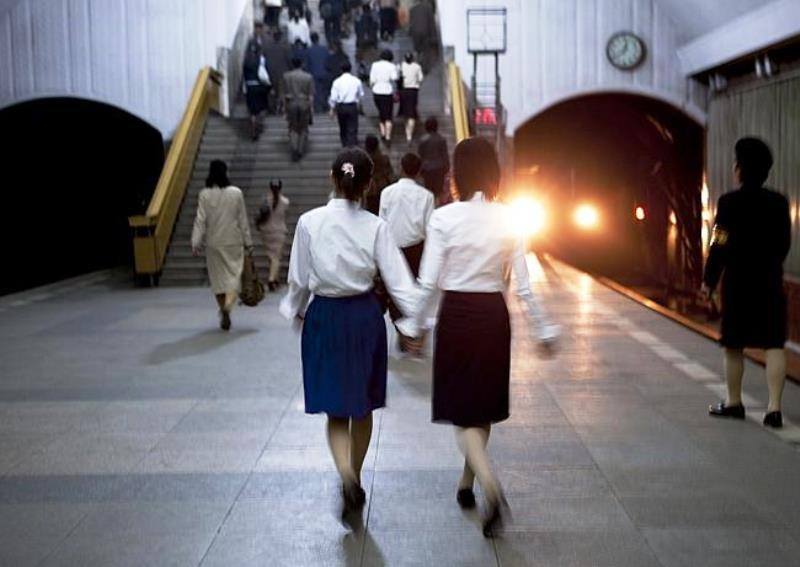 Candid Photographs Of North Korea