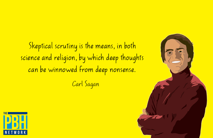Interesting Quotes Carl Sagan On Scrutiny