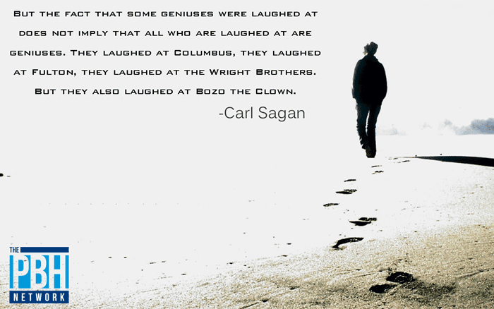 Carl Sagan On Who We Laugh At