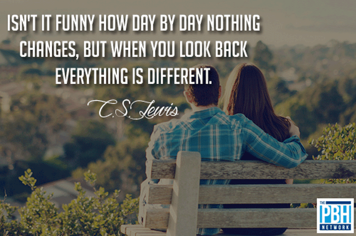 CS Lewis Everything Is Different