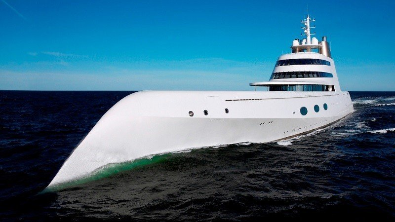 377Foot Migaloo Submarine Yacht Is Perfect for James Bond