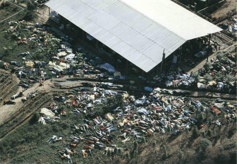 Jonestown Mass Suicide Photograph