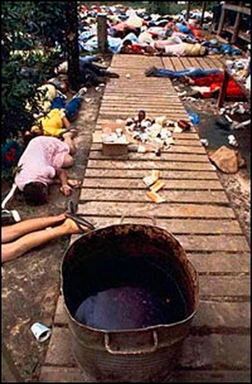 Interesting Events Jonestown Massacre Kool Aid
