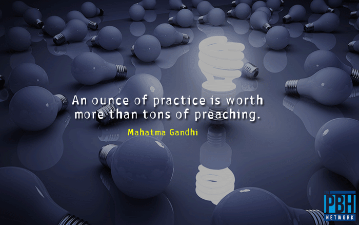 Interesting Quotes Gandhi On Practice