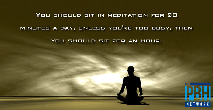 Interesting Quotes Meditation