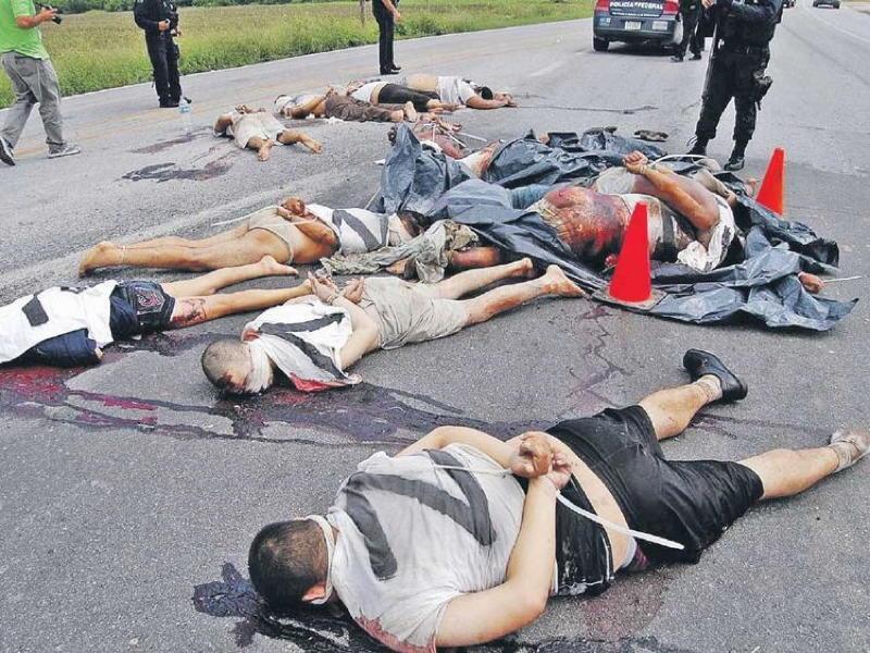 Los Zetas Dead Bodies
