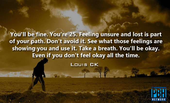 Louis CK Quotes On Growing Up