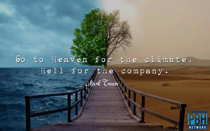 Mark Twain On Heaven And Hell