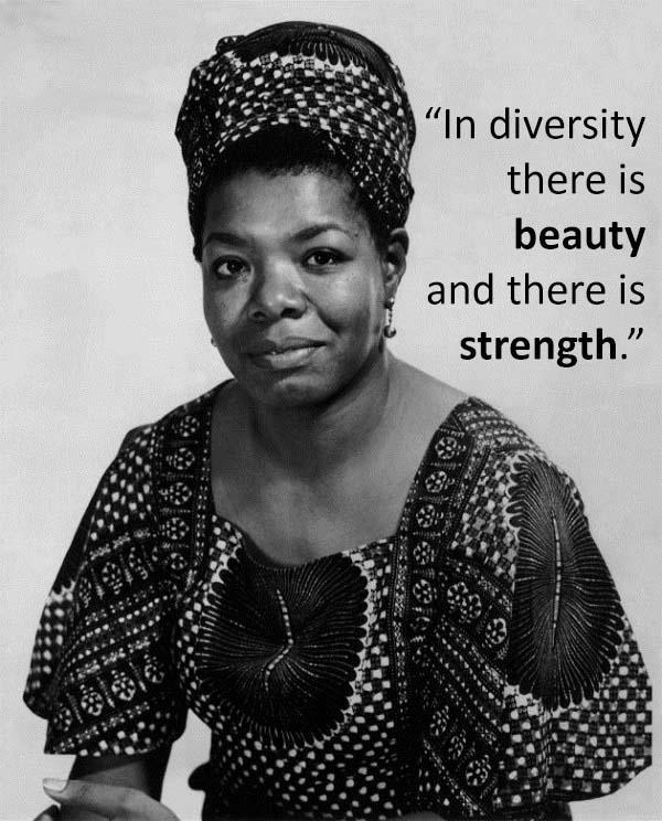 In Diversity There Is Beauty