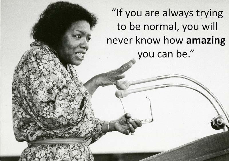 Inspirational Speeches Maya Angelou