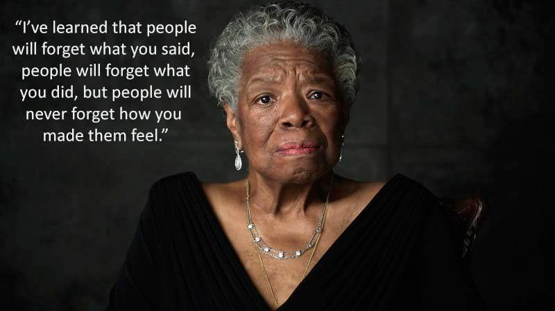 Angelou Speeches Love
