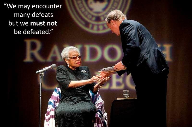 Angelou Speeches College