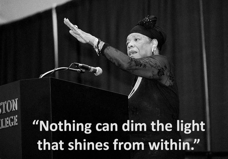 Angelou Dim the Light That Shines