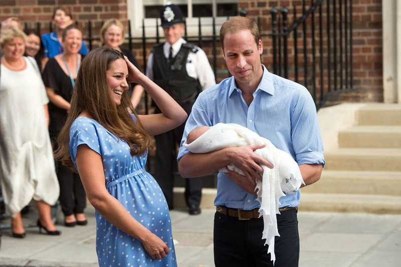 Kate Middleton After Birth