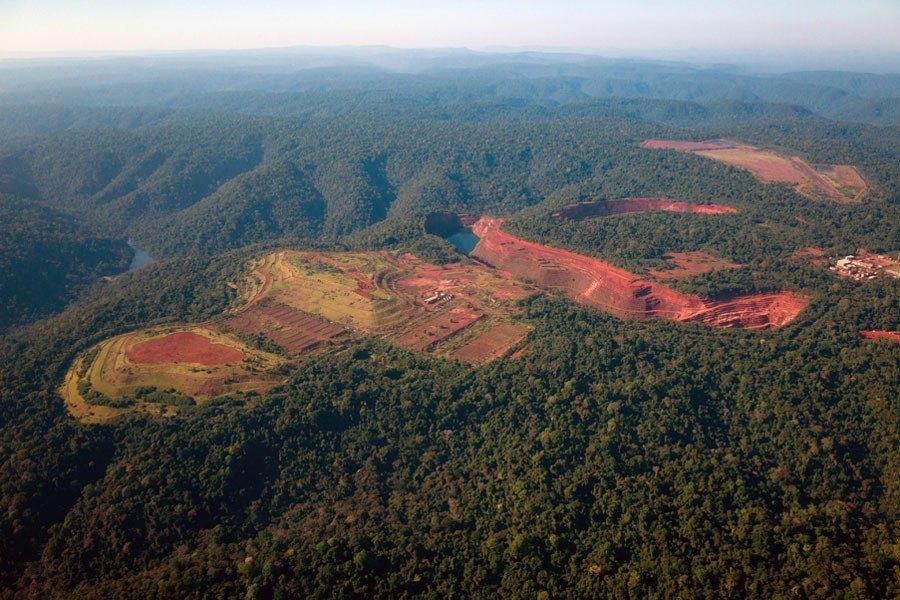 Mountain Deforestation
