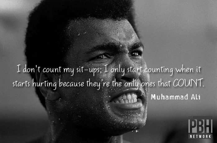 Muhammad Ali On Motivation