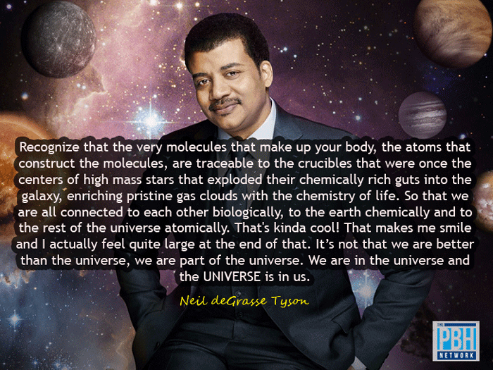 Neil DeGrasse Tyson On The Universe