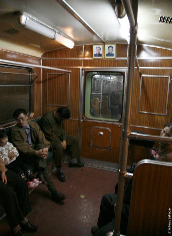 North Korean Subway Car