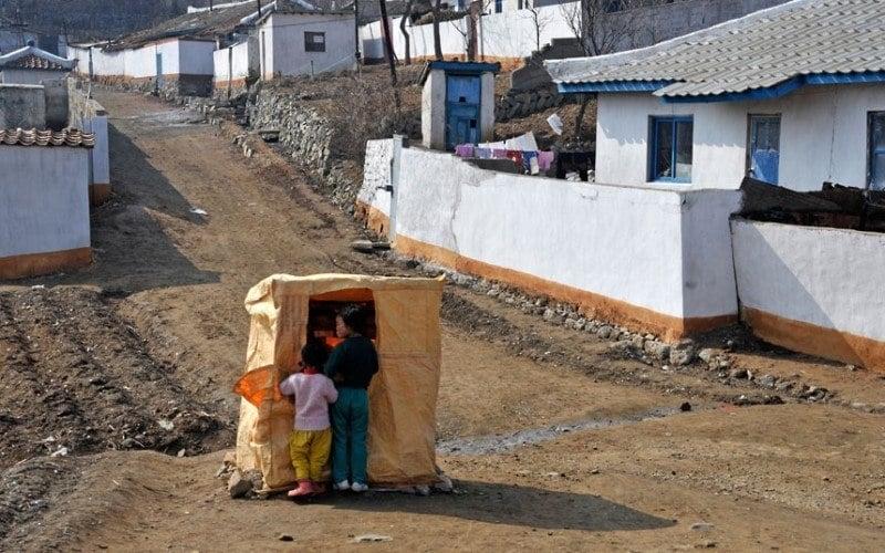 North Korean Village Store
