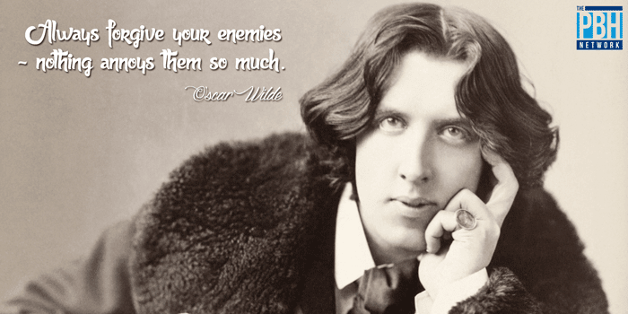 Oscar Wilde On Forgiving Your Enemies
