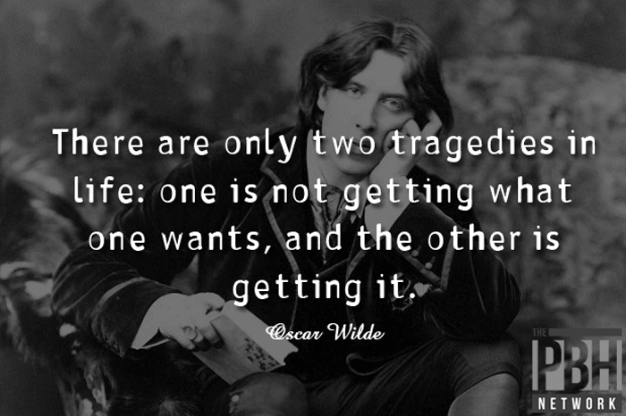 Oscar Wilde Two Tragedies In Life