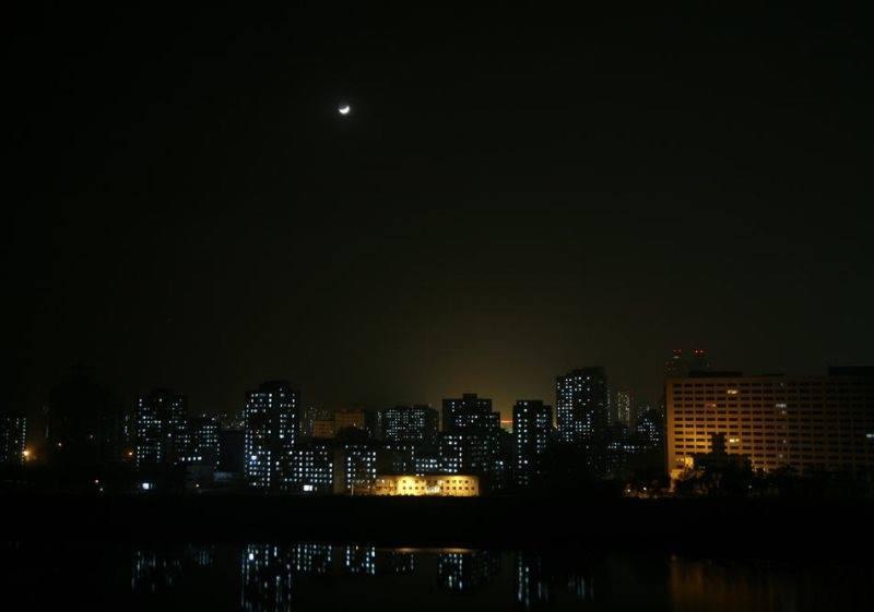 North Korea Photographs Pyongyang At Night