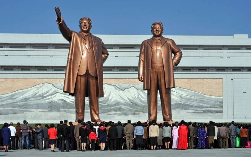 Sculptures Of The Kims