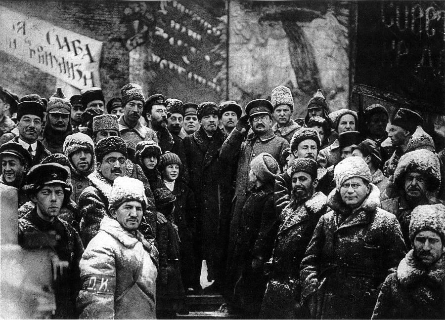Second Anniversary October Revolution 1919