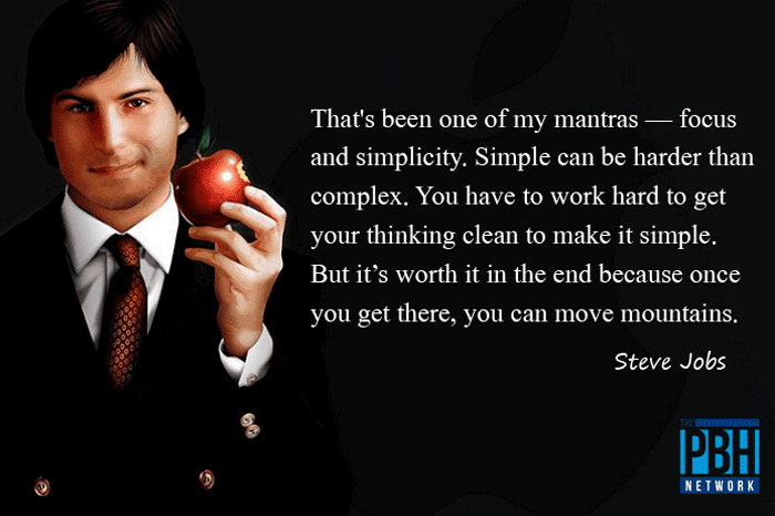 Steve Jobs Quote On Moving Mountains