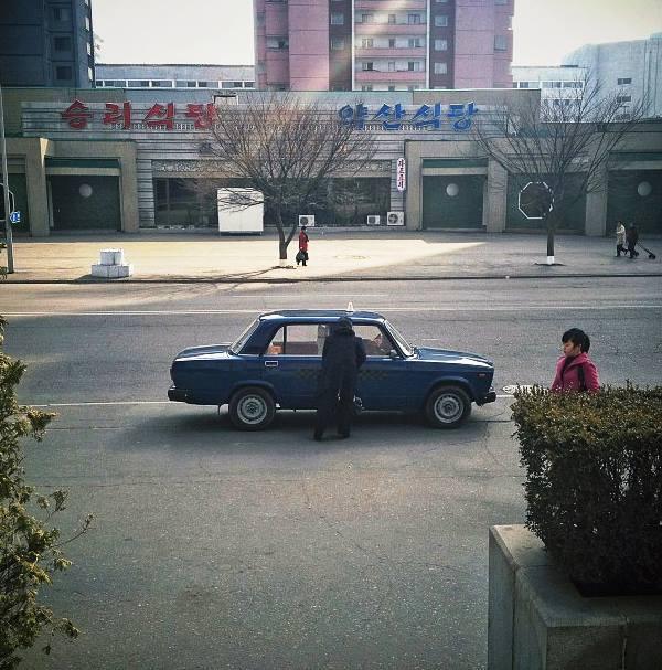 Taxi In Pyongyang