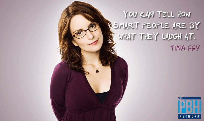 Tina Fey Quote On What People Laugh At