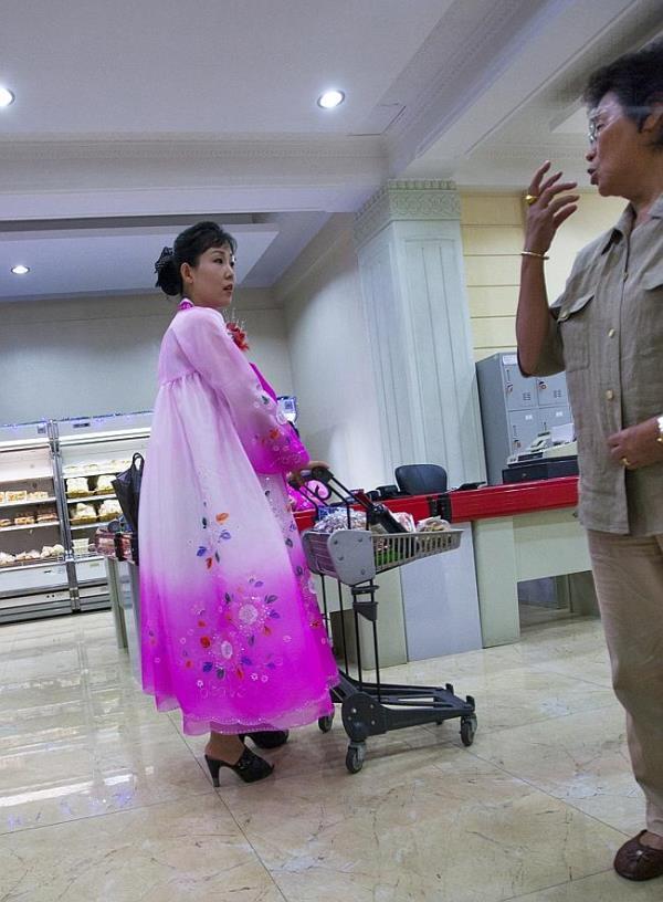 Upscale Shops In Pyongyang