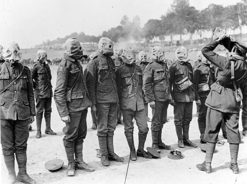 WW1 Technology Gas Masks